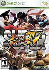 Brand New Sealed Super Street Fighter IV XBOX 360 Video Game