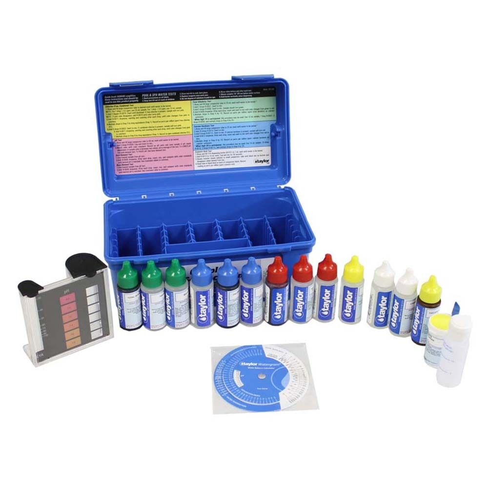 Taylor K 2006c Swimming Pool Spa Liquid Test Kit Fas Dpd