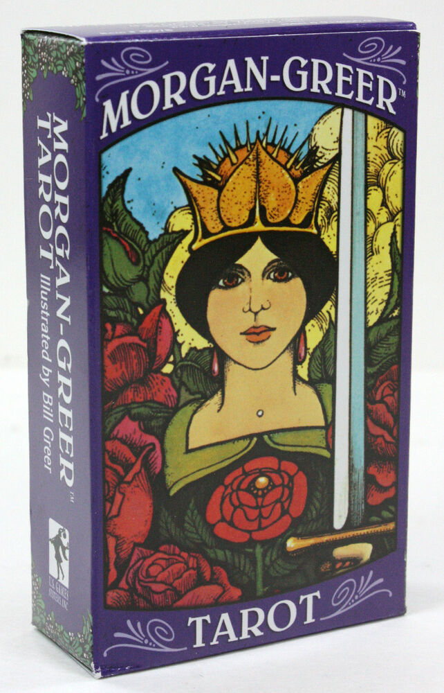 THE MORGAN-GREER TAROT 78 CARD DECK & INSTRUCTIONS NIB