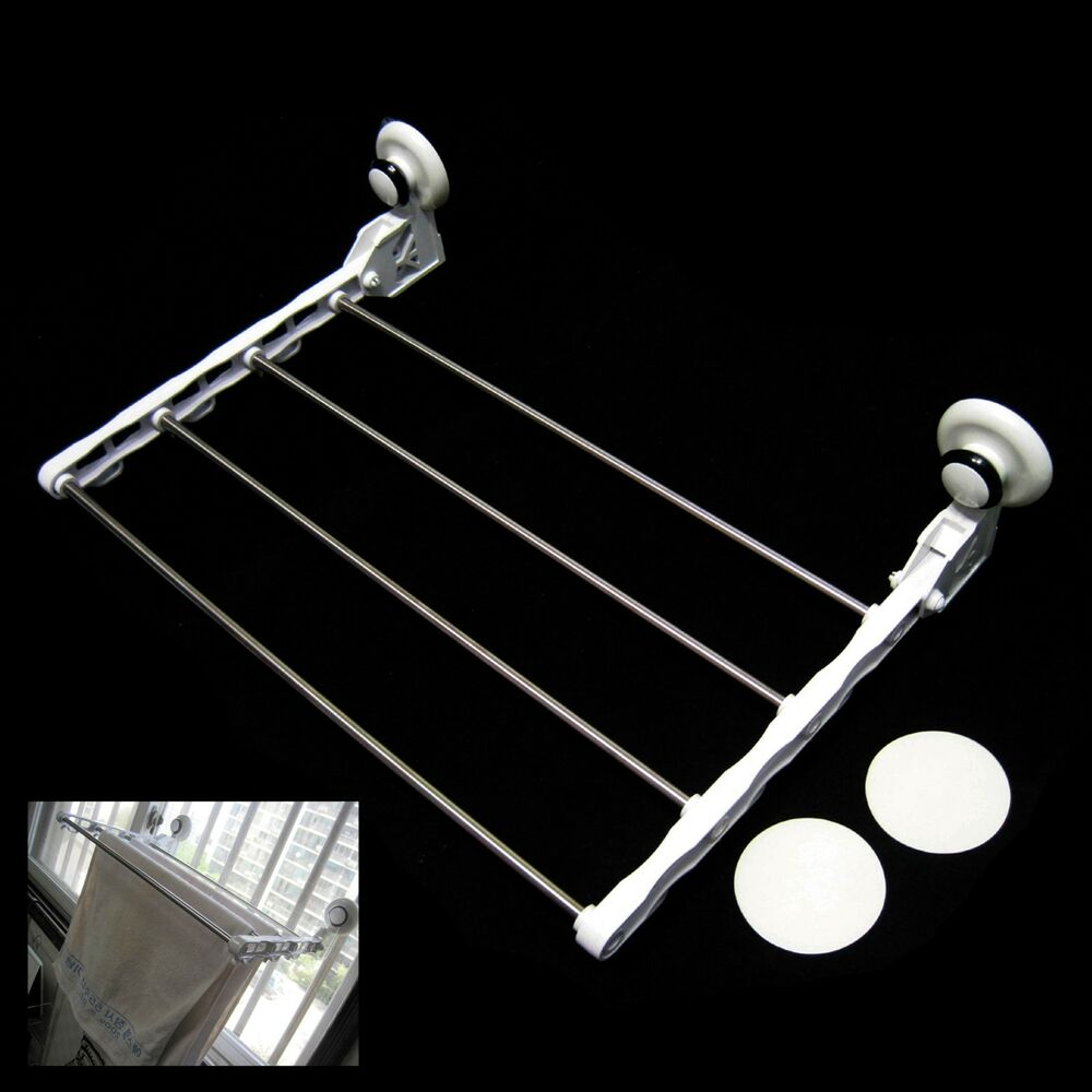 drying rack folding stainless steel kitchen towel strong. Black Bedroom Furniture Sets. Home Design Ideas