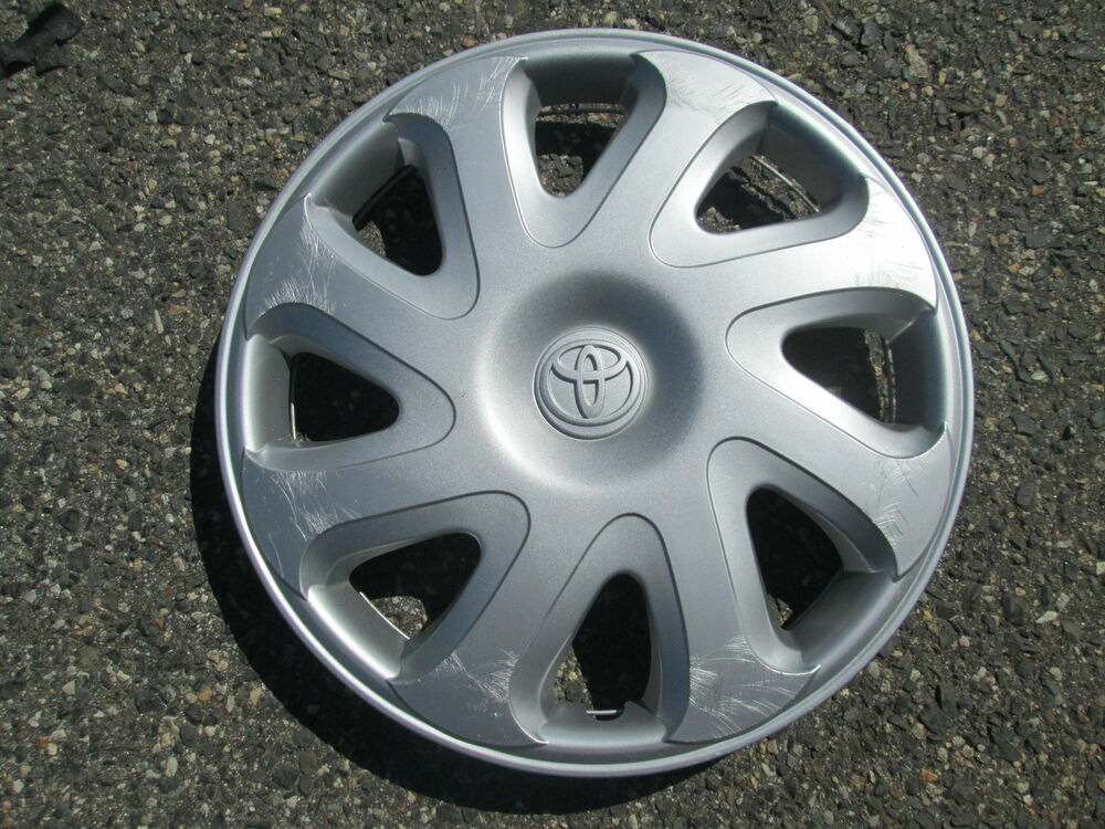 Details About One Genuine 2000 To 2002 Toyota Corolla 14 Inch Hubcap Wheel Cover