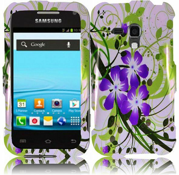For Samsung Galaxy Rush M830 HARD Snap on Protector Case Phone Cover ...