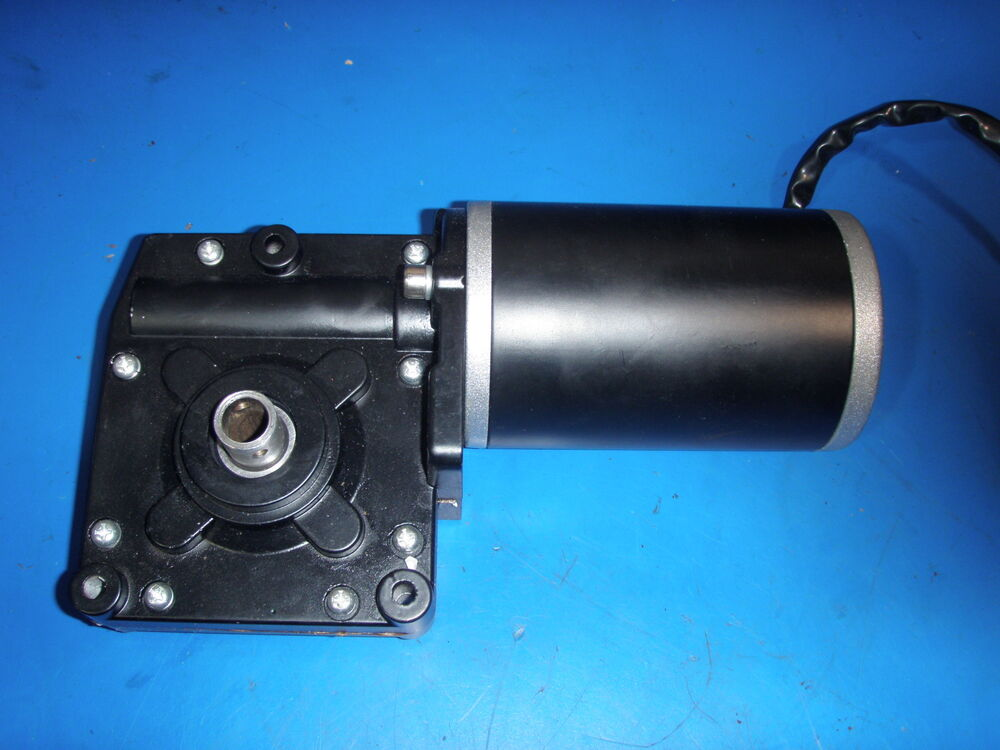 Gear Motor 12 Volt Great For Sawmill Crab Pot Pull Feed