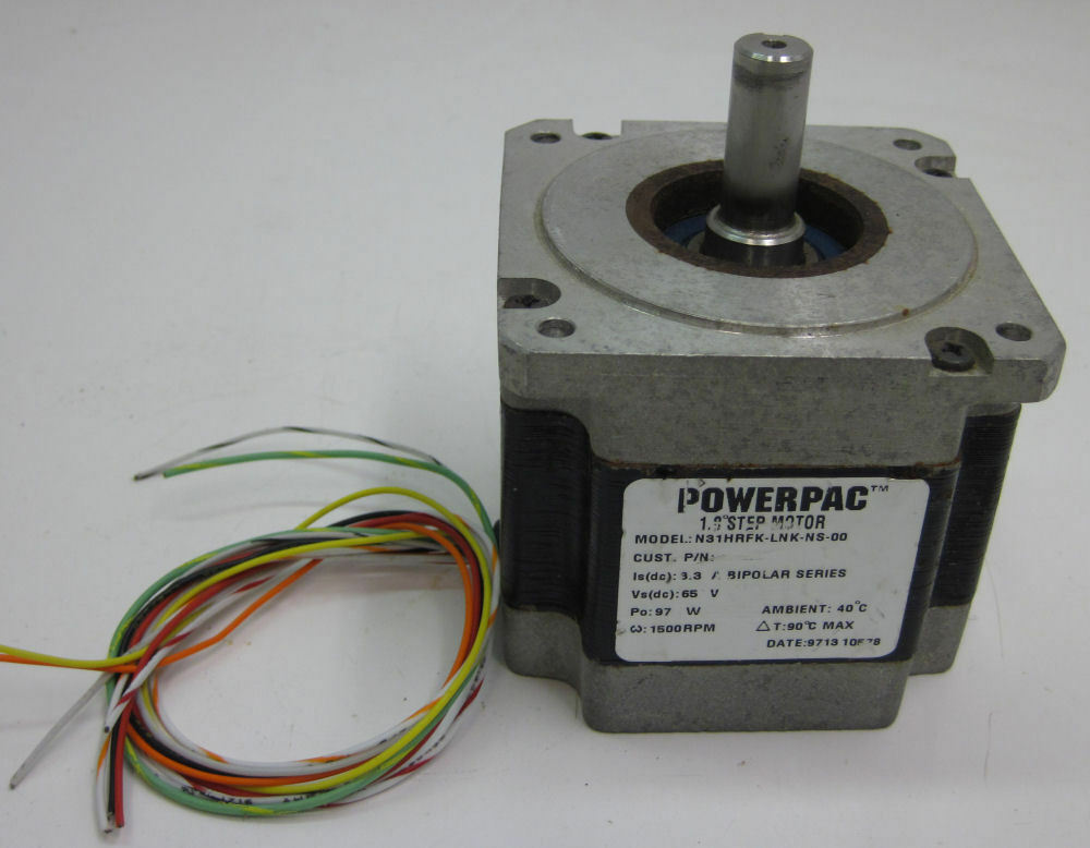 Pacific scientific powerpac 1 8 stepper motor n31hrfk lnk for Pacific scientific stepper motor
