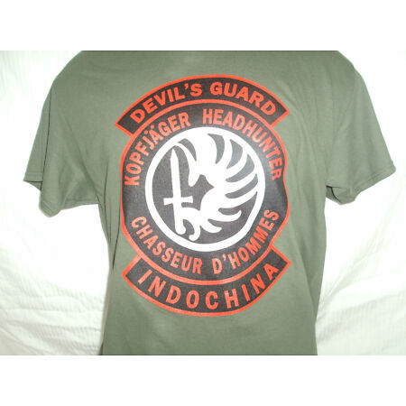 img-Devils Guard, French Foreign Legion, Indochina T shirt, Gildan Ultra