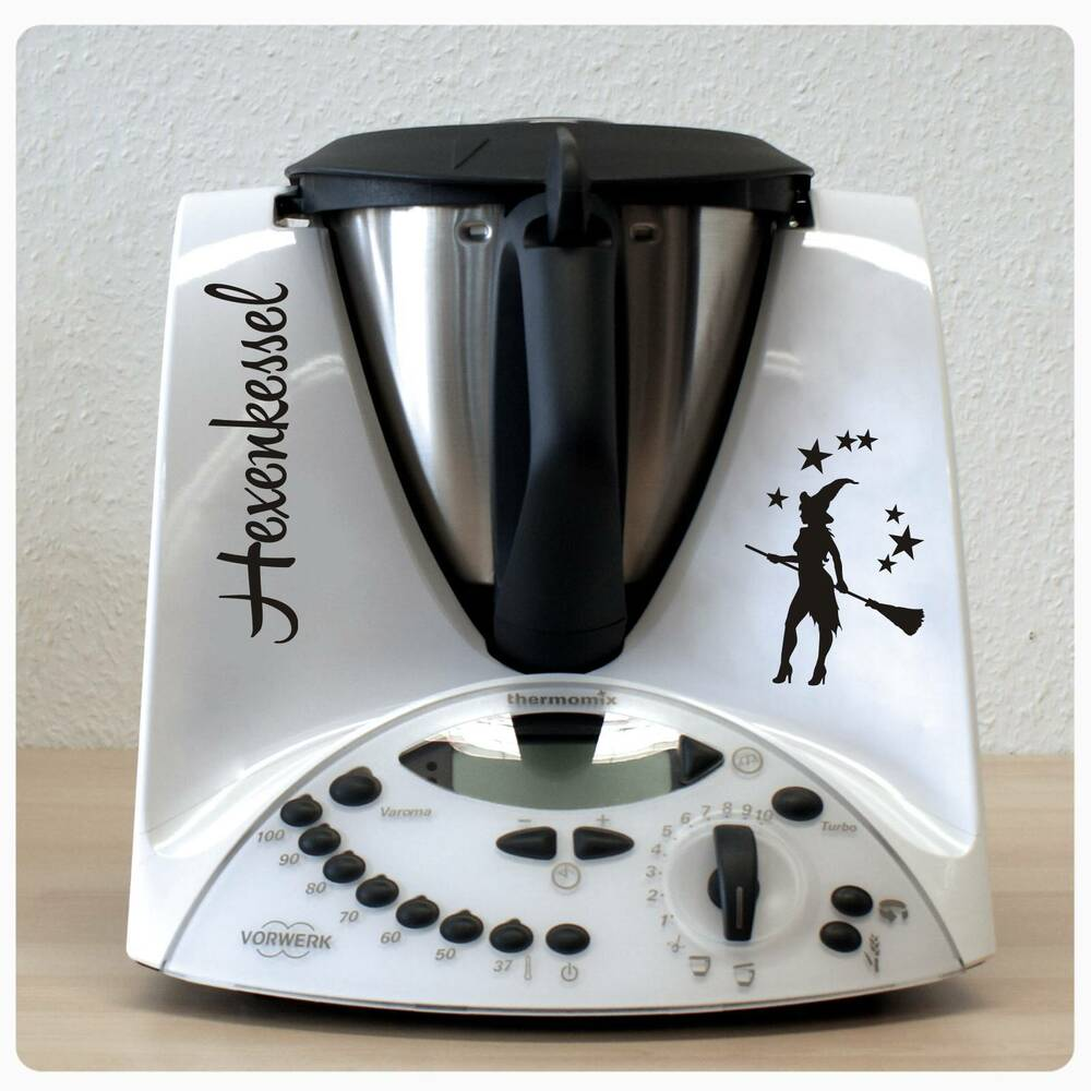 hexe sterne hexenkessel aufkleber sticker f r thermomix tm31 tm 31 tattoo th101 ebay. Black Bedroom Furniture Sets. Home Design Ideas