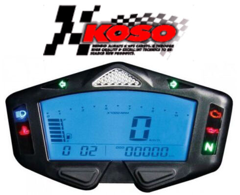 compteur digital koso db 03r moto quad compte tour neuf db03r shifter tachometer ebay. Black Bedroom Furniture Sets. Home Design Ideas