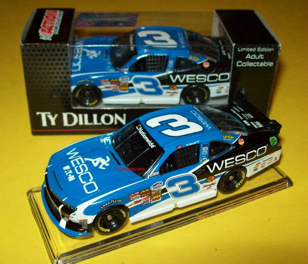 Ty Dillon 2014 Wesco #3 Nationwide Camaro Rookie RCR 1/64
