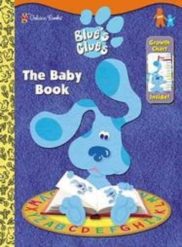 BLUES CLUES COLORING BOOK WITH GROWTH CHART