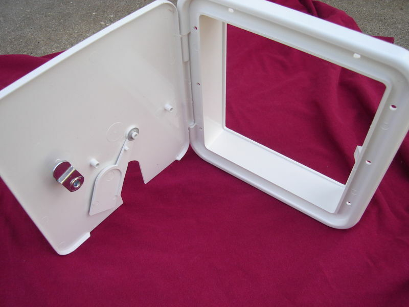 Rv Trailer Electric Power Cord Cable Hatch 8 1 2x8 Lg Ebay