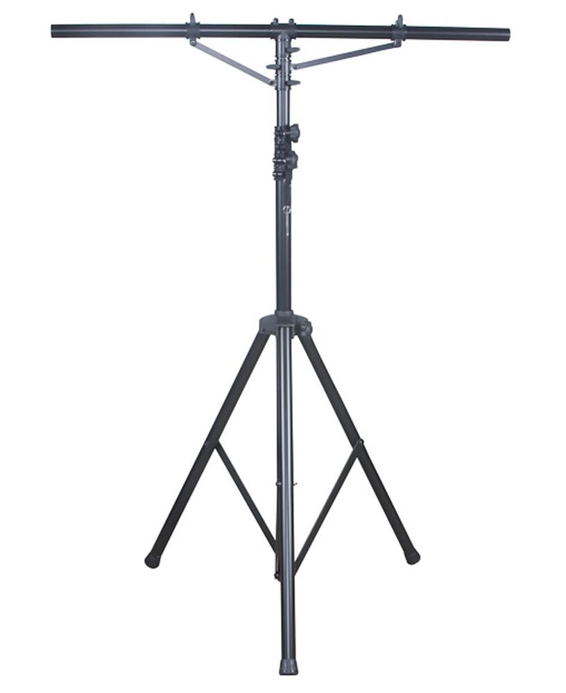 New american dj lts 2 aluminum black heavy duty 12 ft for Stand pub