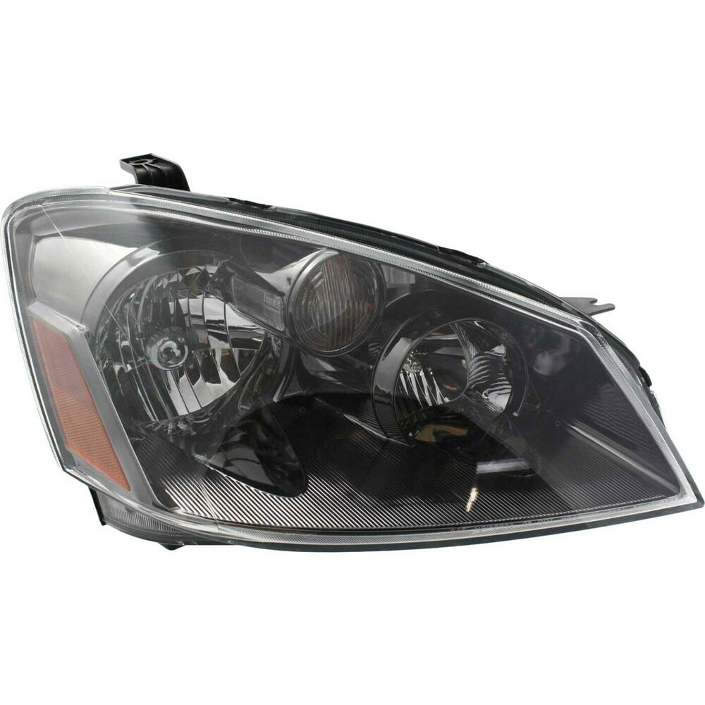 Headlights For 2006 Nissan Altima: Headlight For 2005-2006 Nissan Altima Passenger Side W