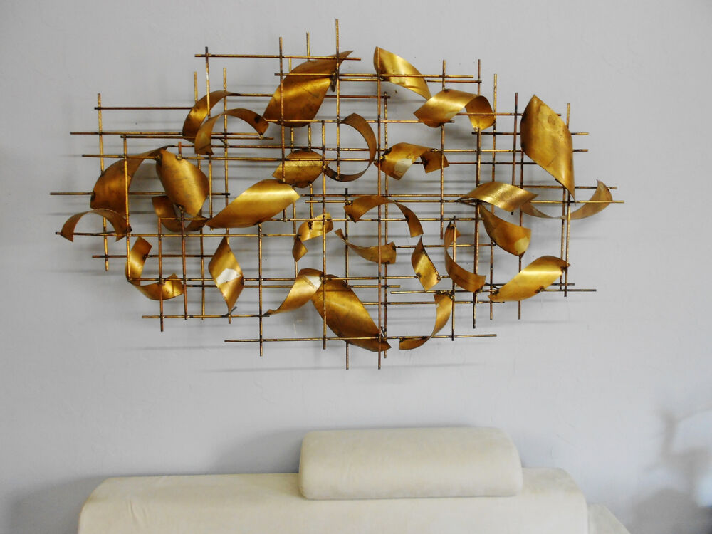 HUGE, OVER 6FT CUSTOM MADE C. JERE WALL SCULPTURE AMAZING