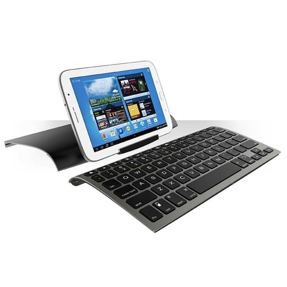 ZAGG ZAGGkeys Universal Bluetooth Keyboard & Stand For IOS, Android, And Windows