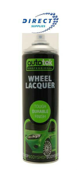 autotek 1 x wheel lacquer 500ml can clear paint spray. Black Bedroom Furniture Sets. Home Design Ideas