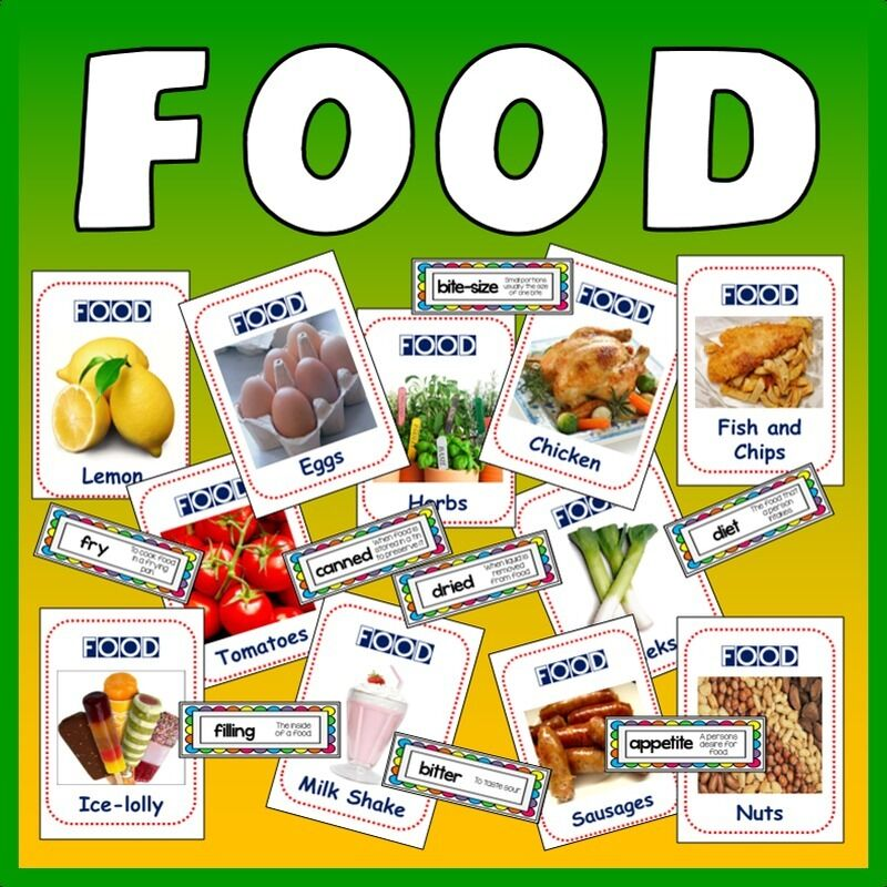 Cd 350 food flashcards teaching resources display terms for Cuisine resources