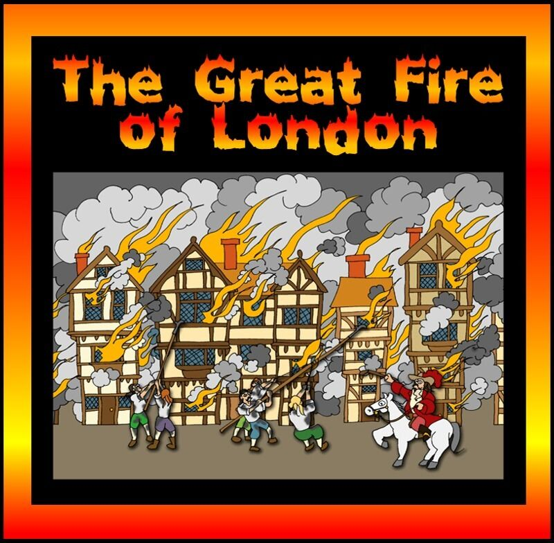 Cd Great Fire Of London Teaching Resources British History Fire