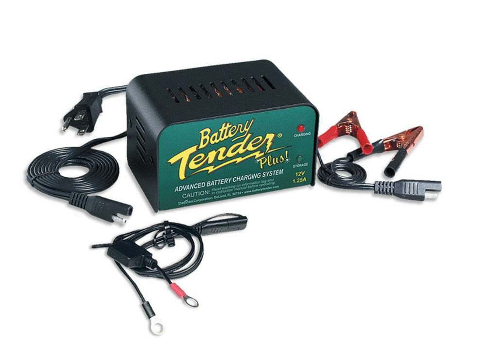 hooking up battery tender to atv Maintain the proper battery charge and maintenance levels with the 12v 12 amp battery tender plus choose this 4-stage smart charger and save money on batteries.