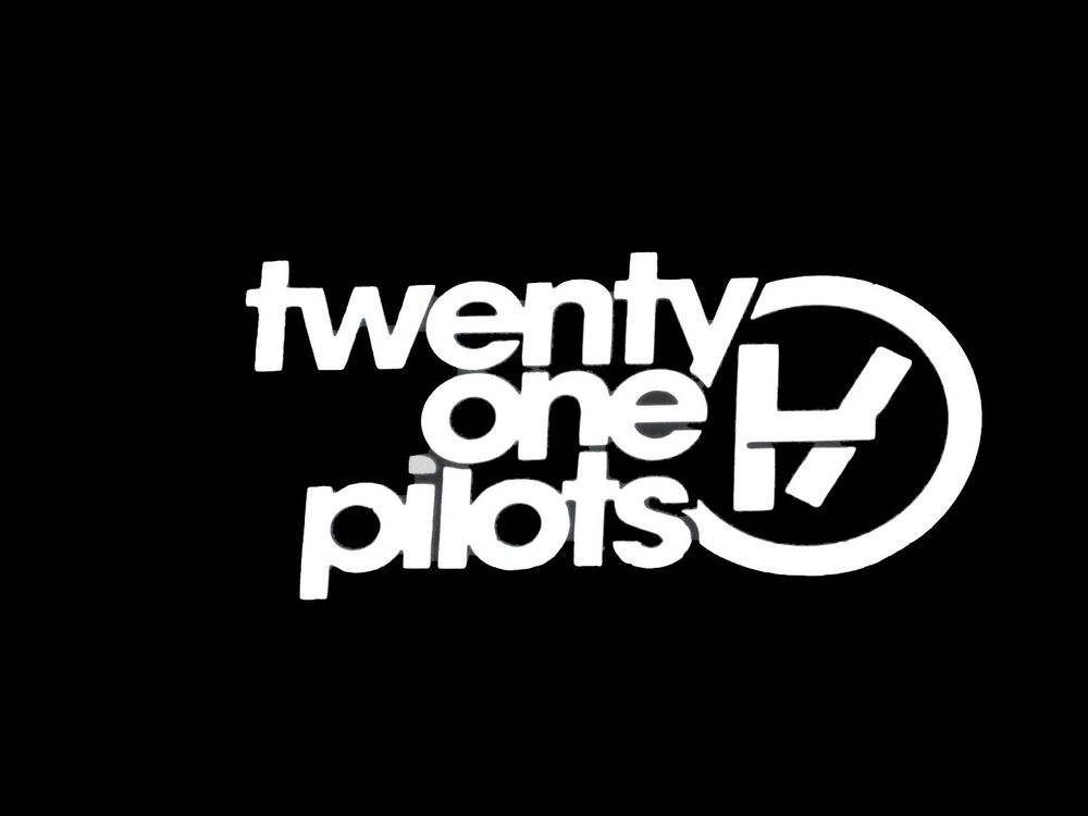 Twenty One 21 Pilots Music Rock Band Vinyl Decal Sticker