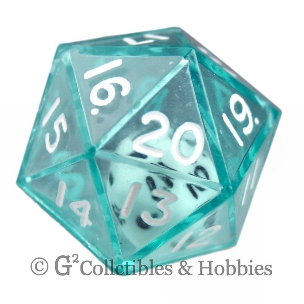 game with 20 sided die with 20 letters