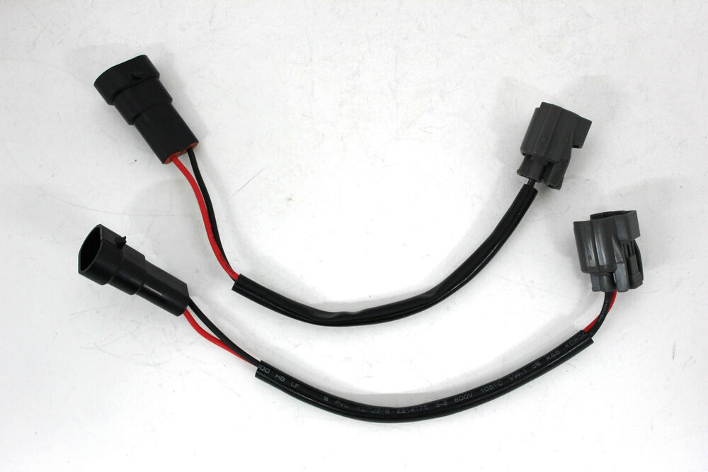 2x Mitsubishi Lancer Outlander Xenon Ballast Power Plug Pig Tail For 9005    9006
