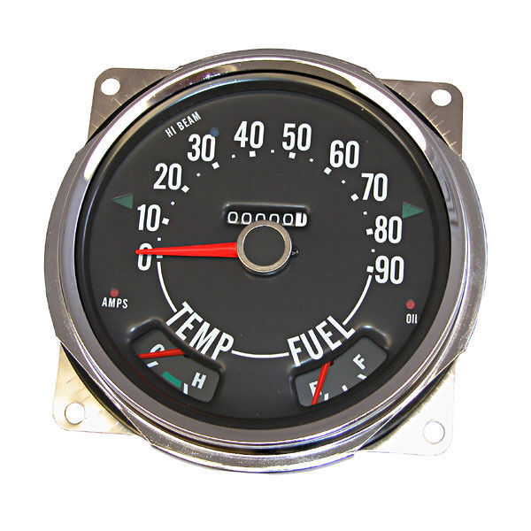 new jeep cj cj5 cj6 cj3b speedometer 55-79 x 17206.04 | ebay 79 jeep cj5 speedometer wiring