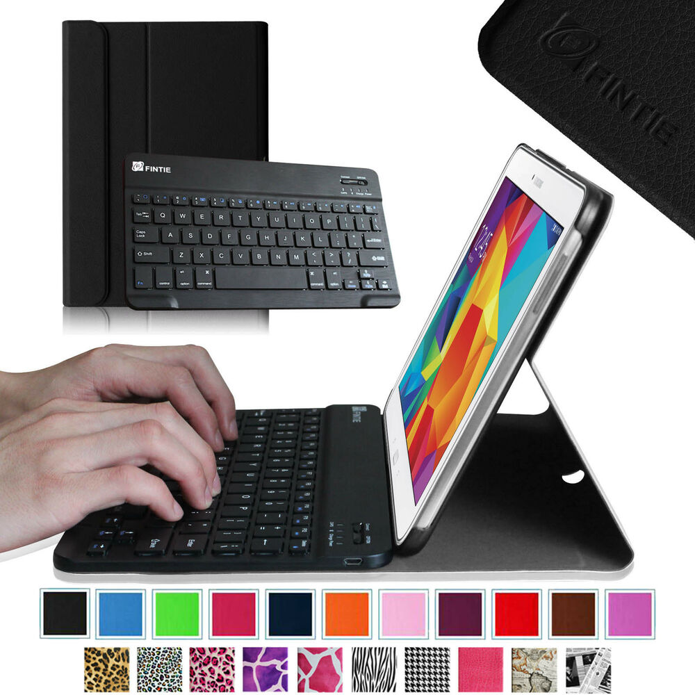 bluetooth keyboard leather case cover for samsung galaxy. Black Bedroom Furniture Sets. Home Design Ideas