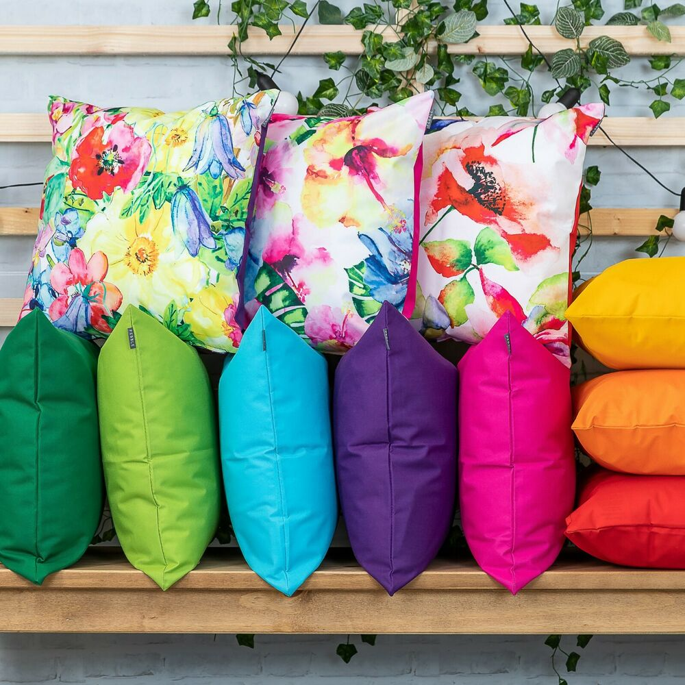 OUTDOOR Garden CUSHION Furniture Cane Filled CUSHIONS Seat