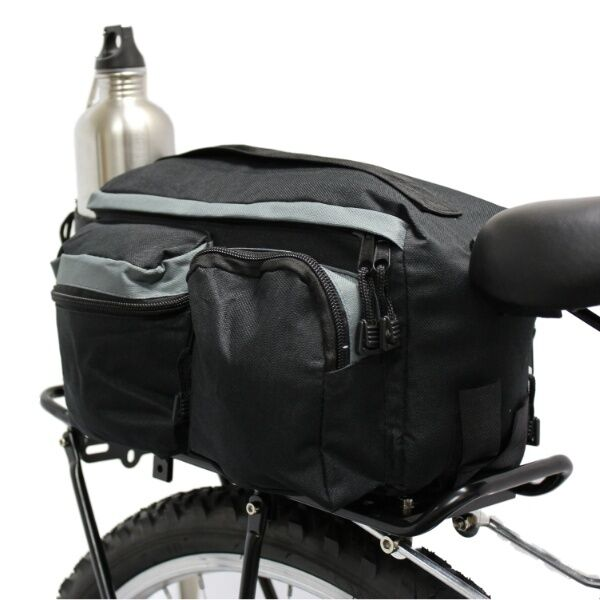 Pedalpro Bicycle Rear Rack Pack Tail Top Bag Seat Storage