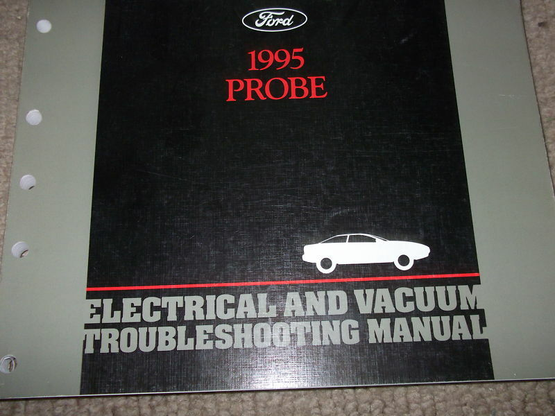 1995 Ford Probe Electrical Wiring Diagrams Service Shop