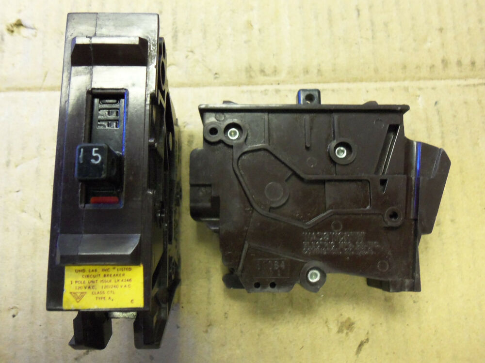 wadsworth 1 pole 15 amp large plastic circuit breaker