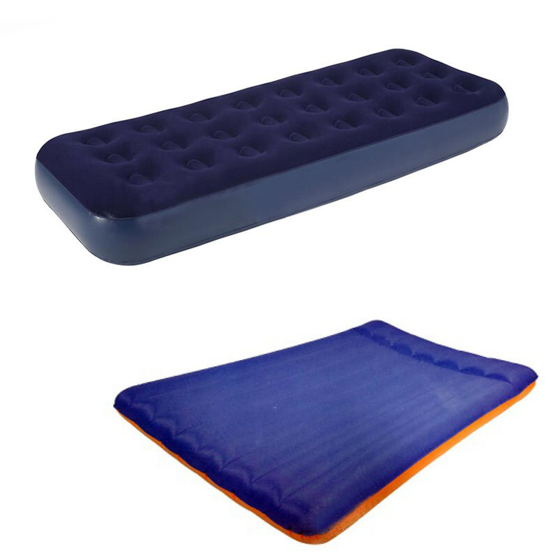 Inflatable Double Single Air Bed Airbed Mattress for