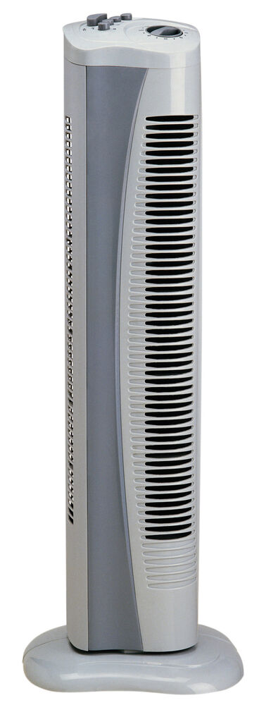 Tall Portable Fan : Genuine prem i air grey portable tall standing cold