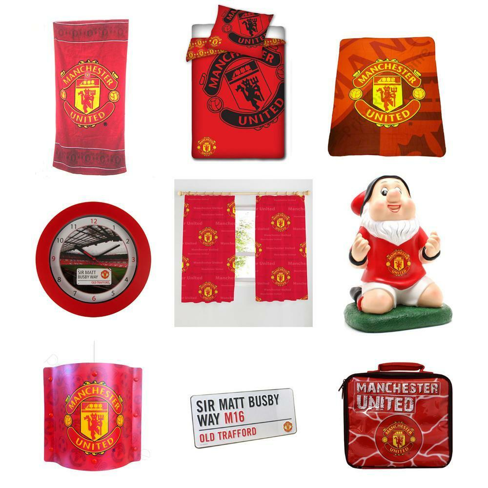 Manchester United Bedroom Manchester United Fc Bedroom Accessories Bedding Lighting Amp