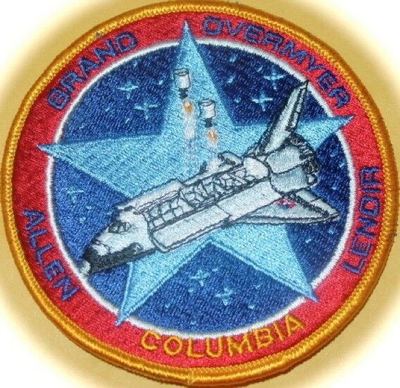 space shuttle columbia mission patch - photo #42