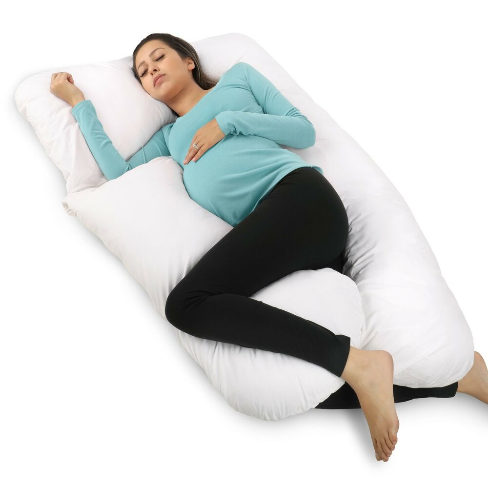 Full Body Maternity Pillow Pregnancy Pillow With Contoured U-Shape