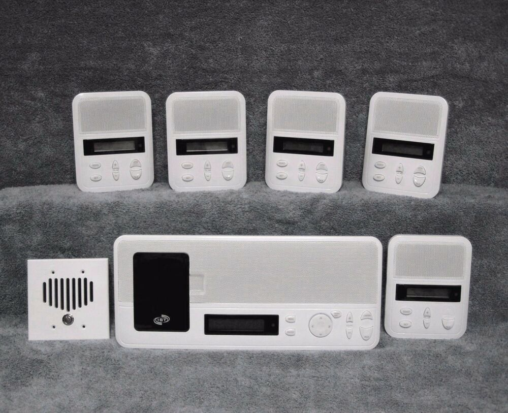 (5) Room / Patio kit IST IntraSonic I2000M Home Intercom ...