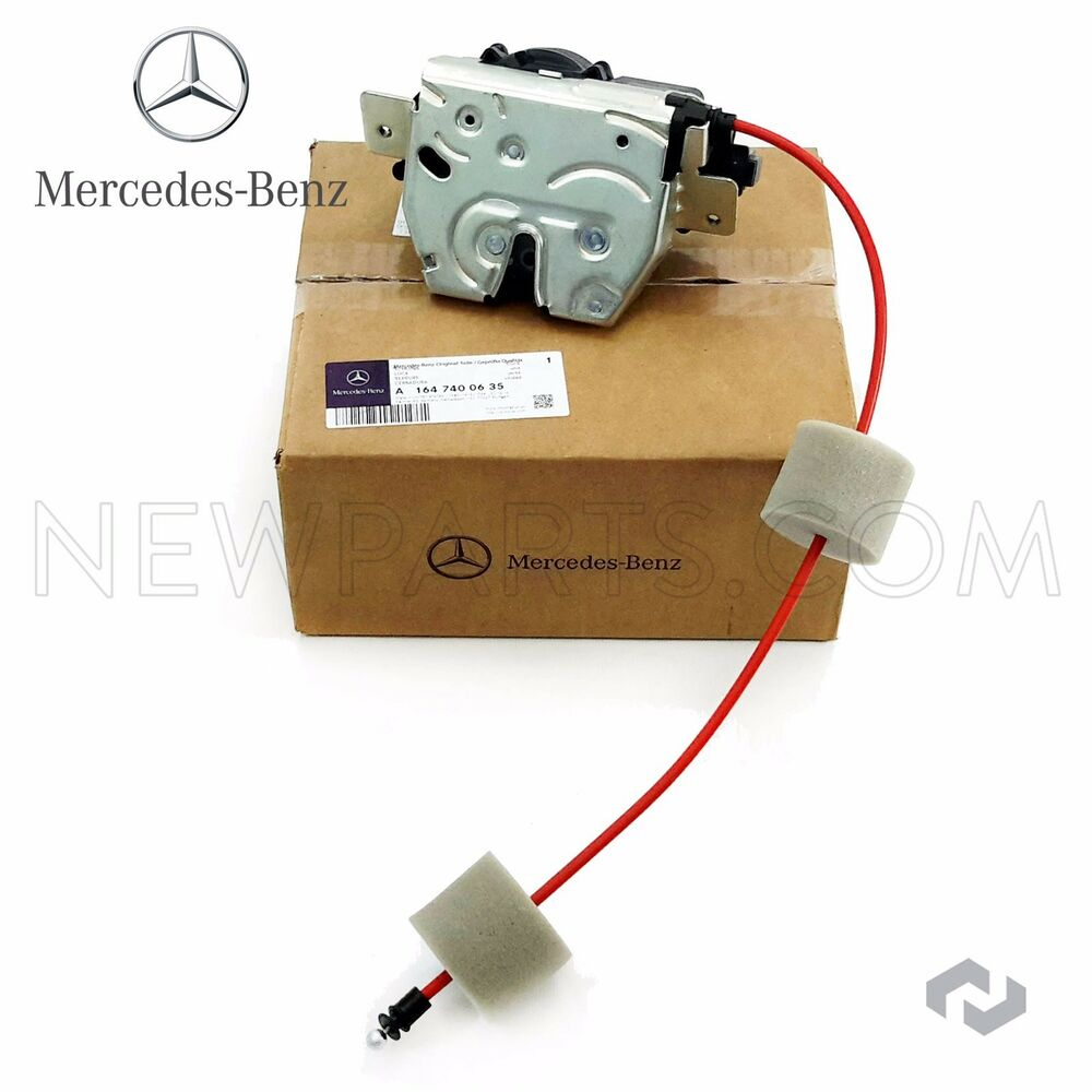 Mercedes benz ml class genuine tailgate hatch lock for Replacement parts for mercedes benz