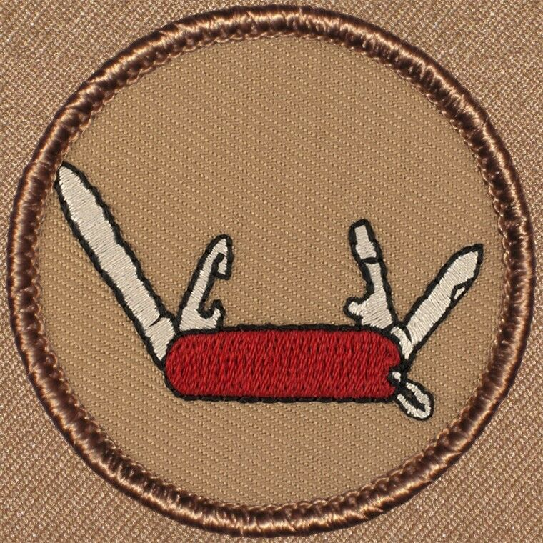 Cool Boy Scout Patches The Swiss Army Knife Patrol Patch
