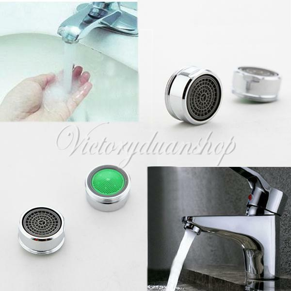 Swivel Aerator For Kitchen Faucet: Water Saving Spout Faucet Tap Nozzle Swivel Aerator Filter