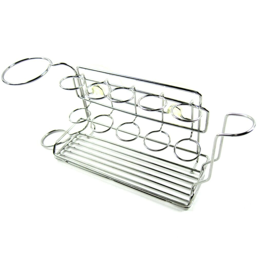 stopia all in one steel wire suction cup holder for