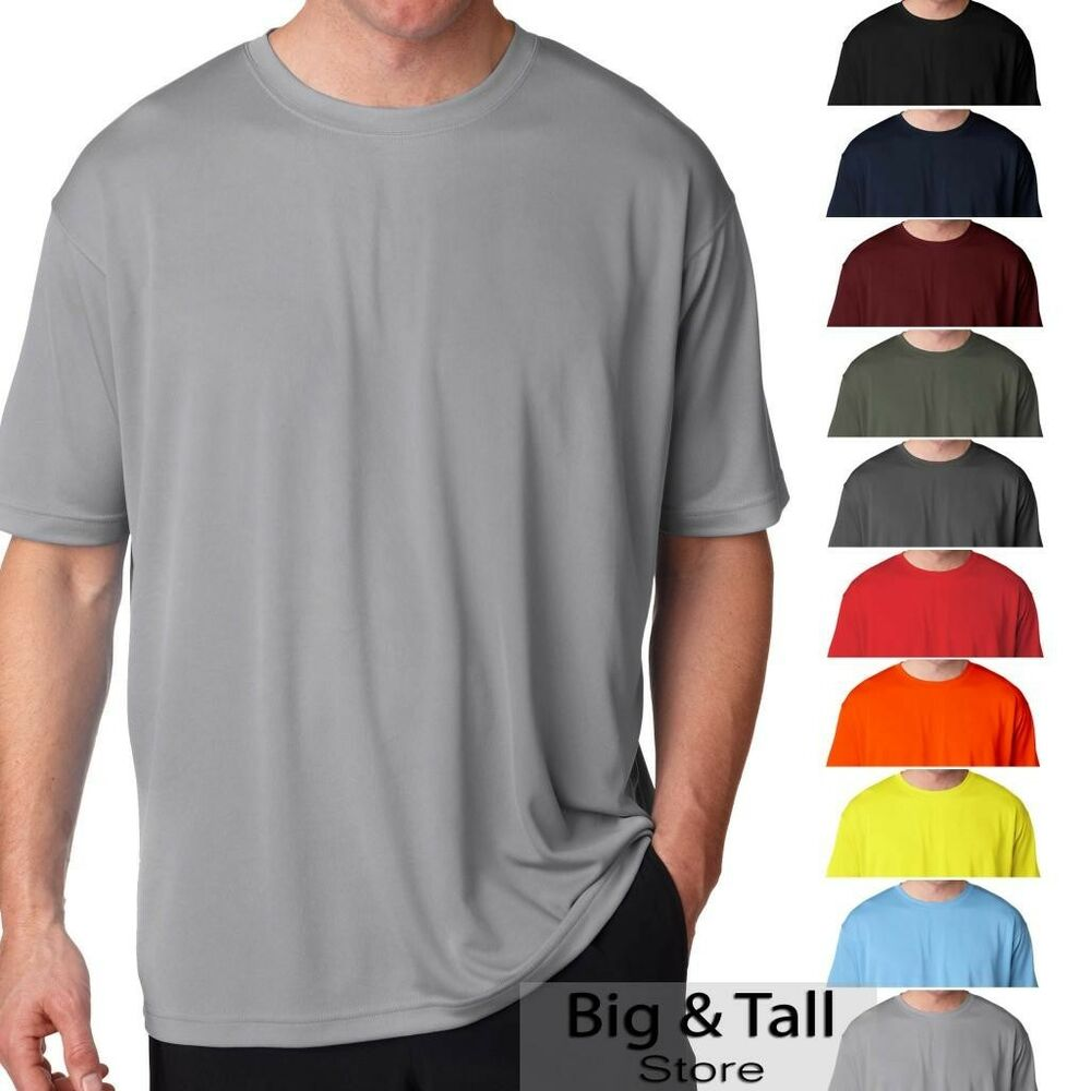 Big men 39 s ultraclub cool n dry performance t shirt short for What is a performance t shirt