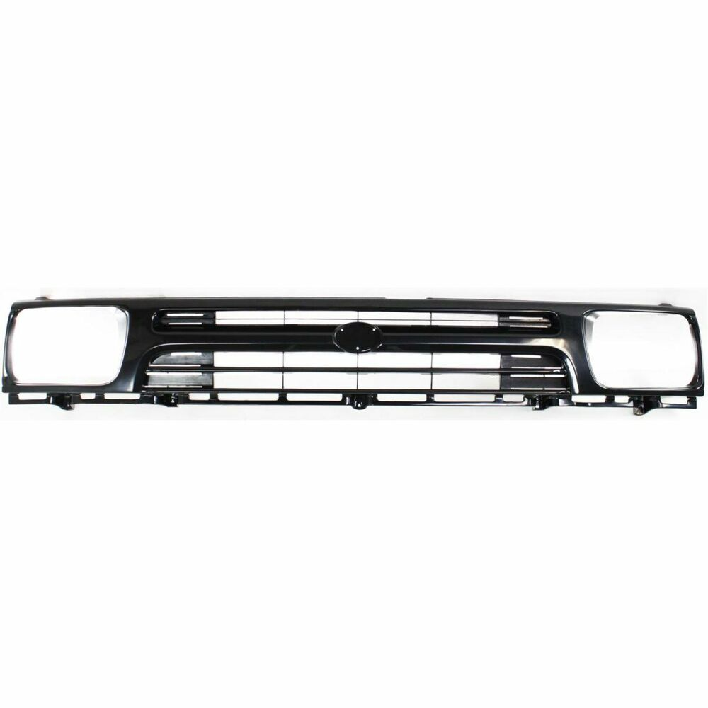 Toyota Truck Aftermarket Parts: Grille For 92-95 Toyota Pickup Black Plastic