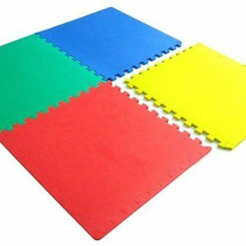 Soft Interlocking Eva Foam Coloured Floor Mats Baby Play