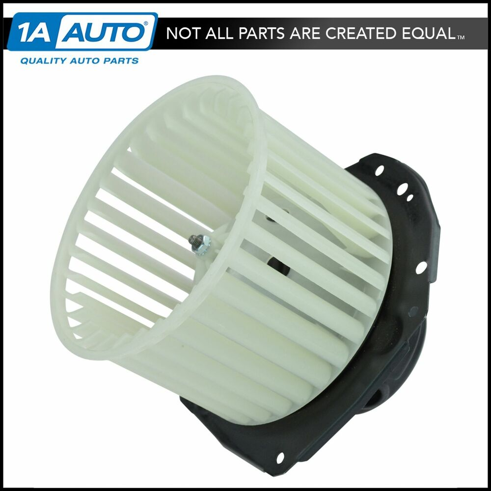 A c heater blower motor w fan cage for buick cadillac for Car ac blower motor