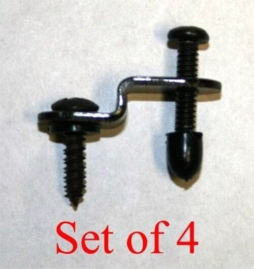 Adjustable Cabinet Door Clips To Hold In Stained Glass 4