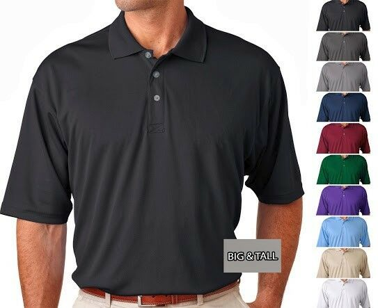 Big And Tall Men 39 S Cool N Dry Polo Shirt Ultraclub Xlt