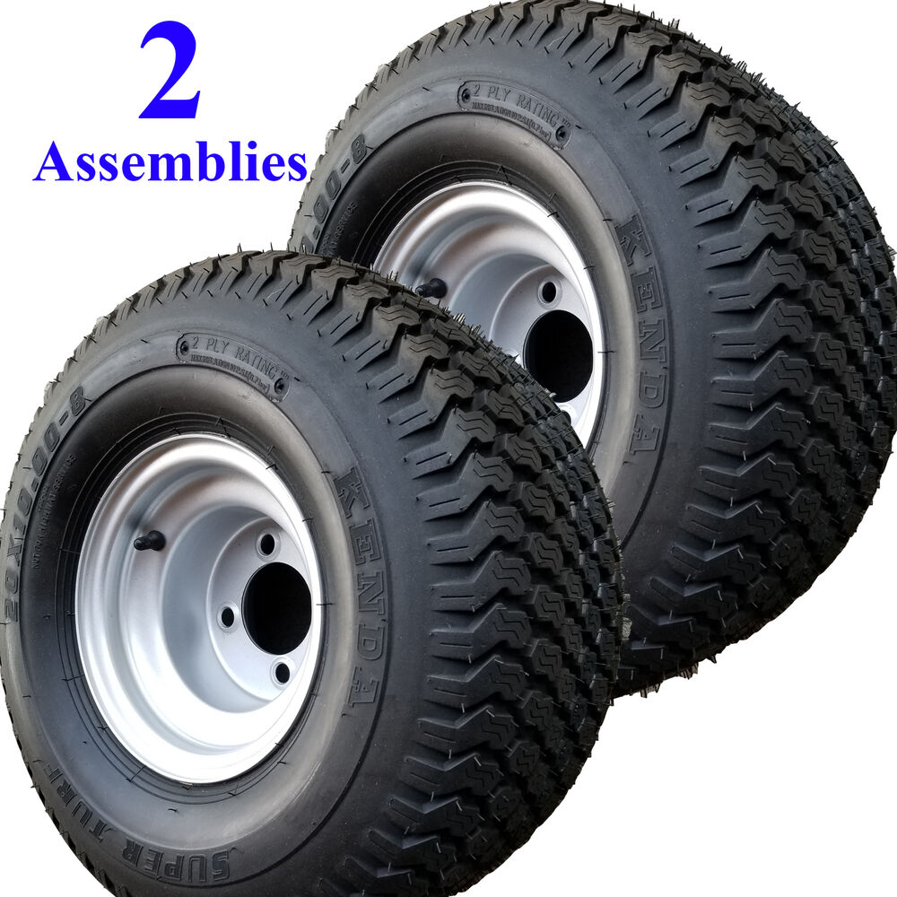 Riding Lawn Mower Rims : Tires rims wheels assembly garden tractor