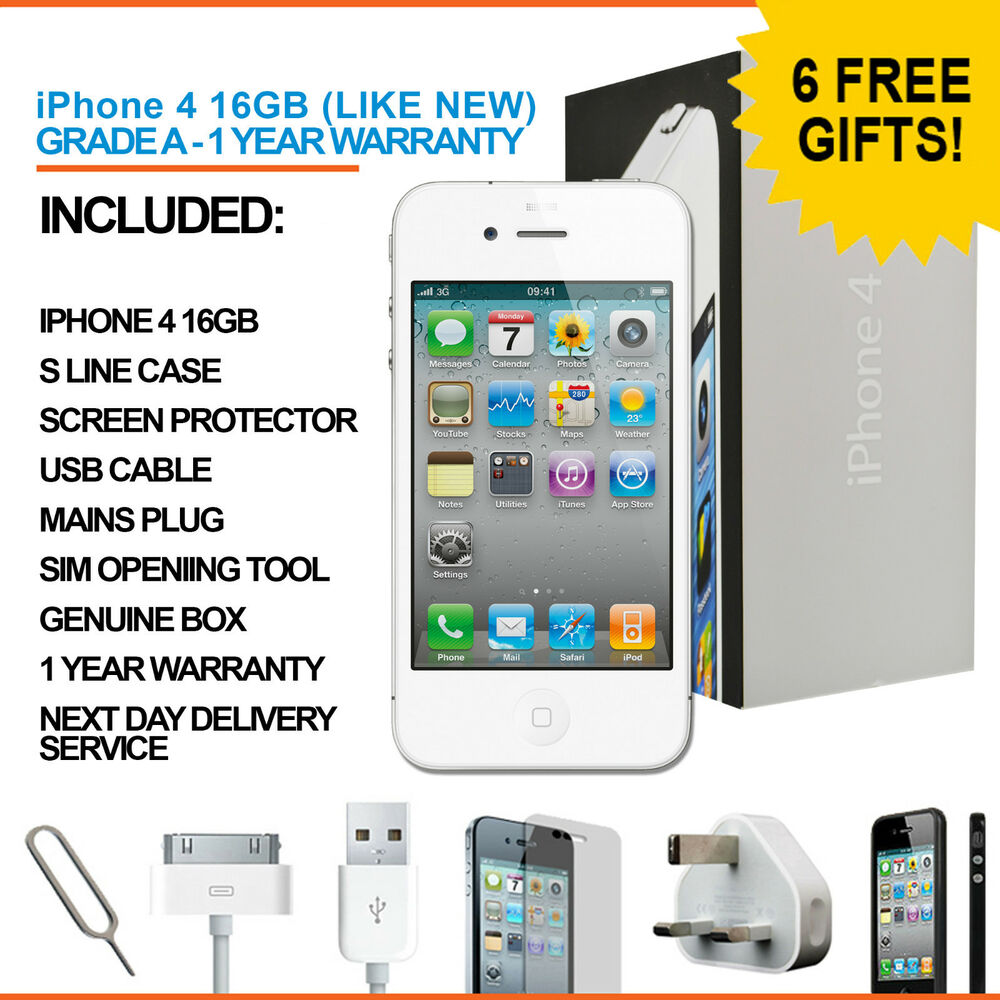 Iphone 4 16gb White Unlocked