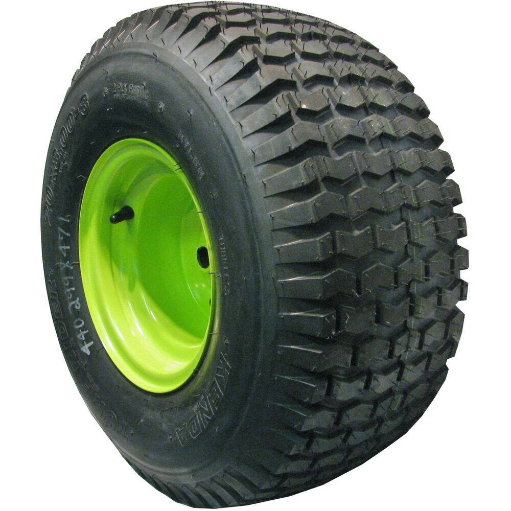 Lawn And Garden Tractor Tires : Lawn mower tractor tire wheel assembly go kart